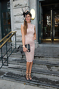 Eithna Farrell, Roscam Galway at the Hotel Meyrick Most Stylish Lady event on ladies day of The Galway Races. Photo:Andrew Downes