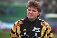 99052005: Moss-trener Knut Thorbjørn Eggen. Stabæk - Moss, 23. april 1999. (Foto: Peter Tubaas)