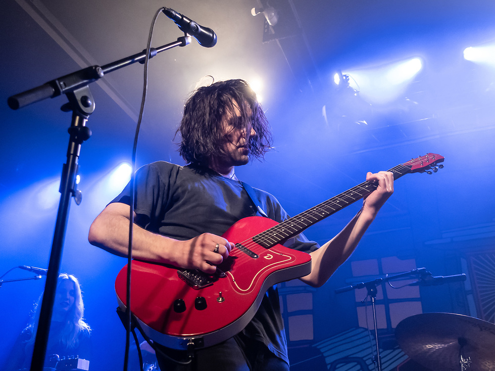 Conor Oberst of American indie-rock duo Better Oblivion Community Center at Kantine club in Cologne
