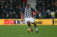 Football - 2017 / 2018 Premier League - AFC Bournemouth vs. West Bromwich Albion<br /> <br /> Salomon Rondon of West Bromwich Albion in action at Dean Court (Vitality Stadium) Bournemouth <br /> <br /> COLORSPORT/SHAUN BOGGUST