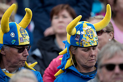 Swedish supporters<br /> FEI European Jumping Championships - Goteborg 2017 <br /> © Hippo Foto - Dirk Caremans