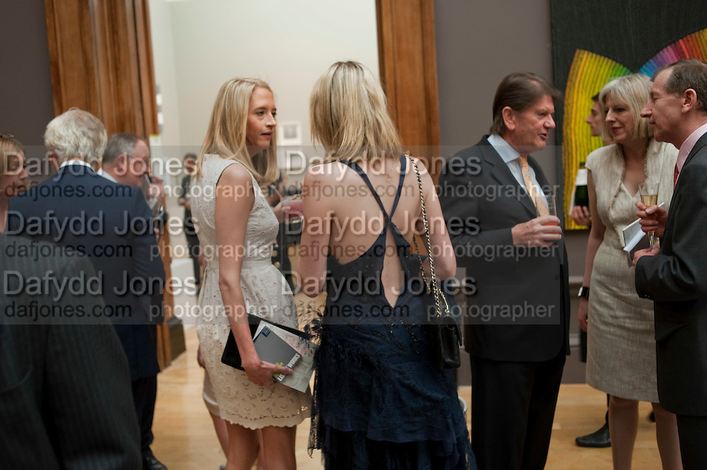 lady flora hesketh; lady sophia hesketh;, JOHN MADJESKI;,,  lady flora hesketh; lady sophia hesketh;, JOHN MADJESKI;, Royal Academy of Arts Summer Exhibition Preview Party 2011. Royal Academy. Piccadilly. London. 2 June <br /> <br />  , -DO NOT ARCHIVE-© Copyright Photograph by Dafydd Jones. 248 Clapham Rd. London SW9 0PZ. Tel 0207 820 0771. www.dafjones.com.