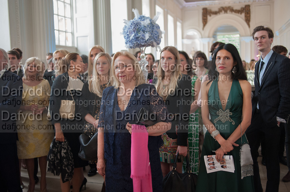 English National Ballet  evening of art, ballet and live performance inspired by Swan Lake, The Orangery, Kensington Palace London.  27 June 2012