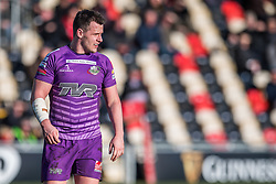 Ebbw Vale's James Lewis - Mandatory by-line: Craig Thomas/Replay images - 04/02/2018 - RUGBY - Rodney Parade - Newport, Wales - Newport v Ebbw Vale - Principality Premiership
