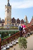 Koningspaar bezoekt Mecklenburg en Brandenburg Dag 1