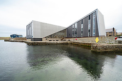 Exterior view of The Mareel cinema and concert hall  in Lerwick, Shetland , Scotland, UK