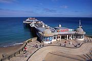 AMHK27 Cromer pier Norfolk England