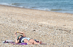 © Licensed to London News Pictures. 30/05/2019.<br /> Sheerness ,UK. Warm sunny weather today as people enjoy a hot day at Sheerness-on-sea in Kent. This weekend is set to be the hottest of the year with forecasters predicting the UK to be warmer than Ibiza. Photo credit: Grant Falvey/LNP