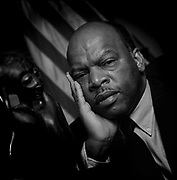 """Congressman John Lewis (D) Georgia, has died as a result of pancreatic cancer  at age 80, Lewis, a Civil Rights icon was called """"The Conscience of Congress""""."""
