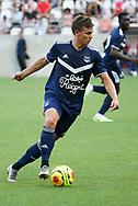 Nicolas de Preville of Bordeaux during the Friendly Game football match between Stade de Reims and Girondins de Bordeaux on August 8, 2020 at the Auguste Delaune Stadium, in Reims, France - Photo Juan Soliz / ProSportsImages / DPPI
