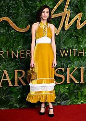 Alexa Chung attending the Fashion Awards in association with Swarovski held at the Royal Albert Hall, Kensington Gore, London.