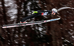 18.01.2018, Heini Klopfer Skiflugschanze, Oberstdorf, GER, FIS Skiflug Weltmeisterschaft, Qualifikation, im Bild Andreas Stjernen (NOR) // Andreas Stjernen of Norway during the Qualification of the FIS Ski Flying World Championships at the Heini-Klopfer Skiflying Hill in Oberstdorf, Germany on 2018/01/187. EXPA Pictures © 2018, PhotoCredit: EXPA/ JFK