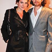 NLD/Utrecht/20100922 - Opening NFF 2010 en premiere Tirza, Anna Drijver en partner Benja Bruijning