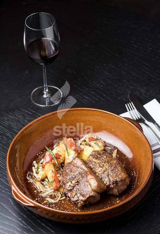 Kleftiko at Hovarda restaurant, St James', London. <br /> Picture by Daniel Hambury/Stella Pictures Ltd 07813022858<br /> 27/11/2017