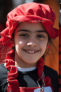 A Hassidic in Purim costume Photographed in Bnei Brak, Israel