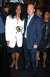 Singer DIANA ROSS and editor of Tatler GEORDIE GRIEG at Tatler Magazine's Summer Party held at the Baglioni Hotel, 60 Hyde Park Gate, London SW7 on 1st July 2004.