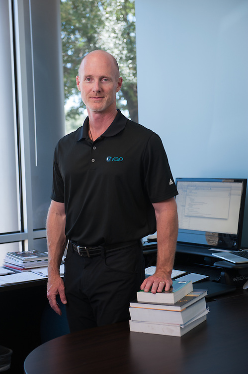 Jeff Ball is President and CEO of Visio Financial Services in Austin, Texas. <br /> photo by Mark Matson ( 8/7/15)