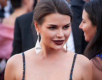 Ava West at the gala screening for the film The Last Face at the 69th Cannes Film Festival, Friday 20th May 2016, Cannes, France. Photography: Doreen Kennedy
