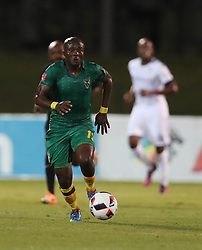 Vuyani Ntanga of Golden Arrows during the 2016 Premier Soccer League match between Golden Arrows and Bidets Wits held at the Princess Magogo Stadium in Durban, South Africa on the 14th December 2016<br /> <br /> Photo by:   Steve Haag / Real Time Images