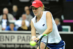 November 10, 2018 - Prague, Czech Republic - Alison Riske of the United States in action during the 2018 Fed Cup Final between the Czech Republic and the United States of America in Prague in the Czech Republic. (Credit Image: © Slavek Ruta/ZUMA Wire)