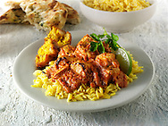 Butter Chicken curry  Indian food stock pictures, photos fotos & images