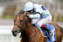 File photo dated 12-05-2021 of Starman ridden by Oisin Murphy. Ed Walker has called time on the racing career of July Cup hero Starman after a minor setback ruled out a potential swansong on Qipco British Champions Day at Ascot this weekend. Issue date: Monday October 11, 2021.