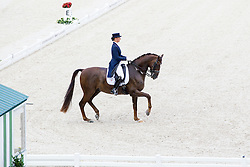 Marina Aframeeva, (RUS), Vosk - Grand Prix Team Competition Dressage - Alltech FEI World Equestrian Games™ 2014 - Normandy, France.<br /> © Hippo Foto Team - Leanjo de Koster<br /> 25/06/14