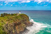 Kīlauea Lighthouse and Wildlife Refuge on Kīlauea Point of Kauai