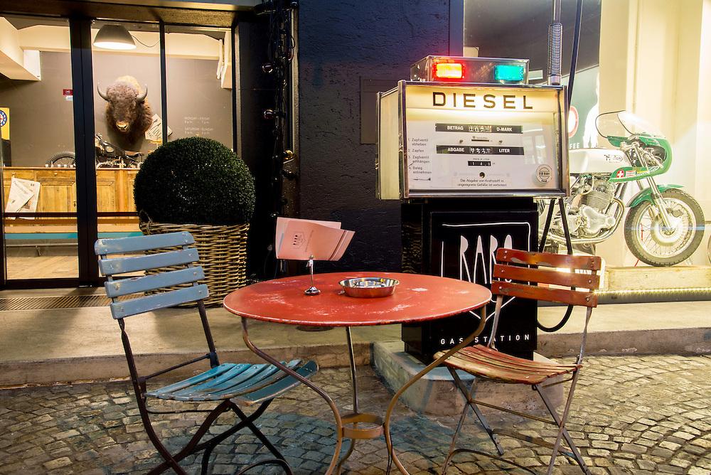 21.03.2016; Rapperswil; Tankstelle an der Ruetistrasse<br /> (Steffen Schmidt)