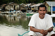 Philippines, Busuanga. Man from Coron Town.