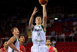 Goran Dragic of Slovenia during  the Preliminary Round - Group B basketball match between National teams of Slovenia and Iran at 2010 FIBA World Championships on September 2, 2010 at Abdi Ipekci Arena in Istanbul, Turkey. (Photo By Vid Ponikvar / Sportida.com)