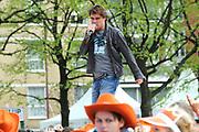 Koninginnedag 2008 - Museumplein Amsterdam STAGE.<br /> <br /> Het grootste Koninginnedag bijeenkmost op het Museumplein in Amsterdam georganiseerd door Radio 538.<br /> <br /> Op de foto:  Jeroen van der Boom