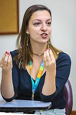 Alessandra Nolasco, Carine Oedmann e Gustavo Pereira