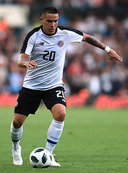 Costa Rica's David Guzman during the International Friendly match at Elland Road, Leeds