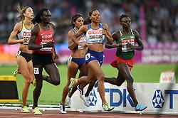 Shelayna Oskan-Clarke of Great Britain in action - Mandatory byline: Patrick Khachfe/JMP - 07966 386802 - 11/08/2017 - ATHLETICS - London Stadium - London, England - Women's 800m Semi-Final - IAAF World Championships
