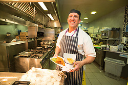 Matt shadowing Edinburgh Airport's chief exec Gordon Dewar as he runs Scotland's busiest airport. Chef Steve Wilson in The Gathering at Departures.