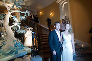 NICK CANDY; ANNABEL WALLACE, Unveiling of the Dior Christmas Tree by John Galliano at Claridge's. London. 1 December 2009