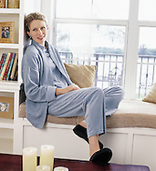Jane relaxing photographed for Charles Keath.