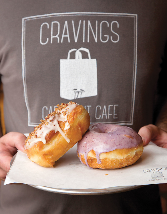 Bronuts (brioche doughnuts) from Craveing Carryout Cafe in Italian Village. (Will Shilling/Crave)