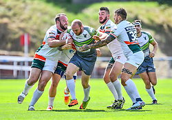 West Wales Raiders v Hunslet<br /> <br /> Photographer Craig Thomas/Replay Images<br /> <br /> Betfred League 1 - West Wales Raiders v Hunslet  - Saturday 04th August 2018 - Stebonheath Park - Llanelli<br /> <br /> World Copyright © 2017 Replay Images. All rights reserved. info@replayimages.co.uk - www.replayimages.co.uk