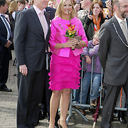 NLD/Makkum/20080430 - Koninginnedag 2008 Makkum, Maxima en Willem Alexander