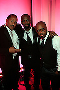 """Frank Ski and Brian Michael Cox and Jermaine Dupri at The Ludacris Foundation 5th Annual Benefit Dinner & Casino Night sponsored by Alize, held at The Foundry at Puritan Mill in Atlanta, Ga on May 15, 2008.. Chris """"Ludacris"""" Bridges, William Engram and Chaka Zulu were the inspiration for the development of The Ludacris Foundation (TLF). The foundation is based on the principles Ludacris learned at an early age: self-esteem, spirituality, communication, education, leadership, goal setting, physical activity and community service. Officially established in December of 2001, The Ludacris Foundation was created to make a difference in the lives of youth. These men have illustrated their deep-rooted tradition of community service, which has broadened with their celebrity status. The Ludacris Foundation is committed to helping youth help themselves."""