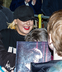 Pictured: <br /> Star of West End smash hits including Legally Blonde and Funny Girl, Sheridan Smith was in Edinburgh tonight as part of her tour to promote her new album, Sheridan, which was released on 3 November last year.  The Edinburgh Playhouse was the second last date on the tour.  Her time in the Playhouse was disrupted when a fire alarm went off in the afternoon.  Not the best way to relax before a gig.<br /> <br /> Ger Harley   EEm 26 April 2018