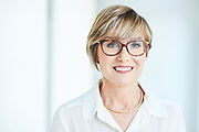 Example of naturally-lit and authentic corporate headshot