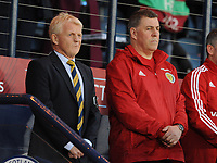 Football - 2016 / 2017 World Cup Qualifier - UEFA Group F: Scotland vs. Slovenia<br /> <br /> Gordon Strachan manager of Scotland with Mark McGhee assistant manager of Scotland during the match at Hampden Park.<br /> <br /> COLORSPORT
