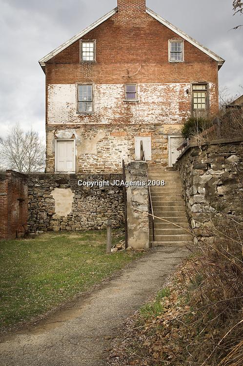 Historic Luckenbach Mill Colonial Industrial Quarter Bethlehem Pennsylvania Lehigh Valley