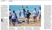The Observer newspaper cutting