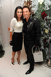 Laila Rouass and Bruno Tonioli at the launch of the English National Ballet's Christmas season 2009 held at the St.Martin;s Lane Hotel, London on 15th December 2009.