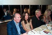 PEPE FANJUL; ARIANNA BOARDMAN; PAUL WILMOT, Aby Rosen & Samantha Boardman Dinner at Solea,Collins ave,  Miami Beach. 2 December 2010. -DO NOT ARCHIVE-© Copyright Photograph by Dafydd Jones. 248 Clapham Rd. London SW9 0PZ. Tel 0207 820 0771. www.dafjones.com.