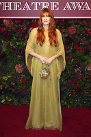 Florence Welch, Evening Standard Theatre Awards, London Coliseum, London, UK, 24 November 2019, Photo by Richard Goldschmidt